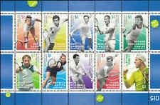 2016 AUSTRALIA Tennis Legends Sheetlet A (10) MNH