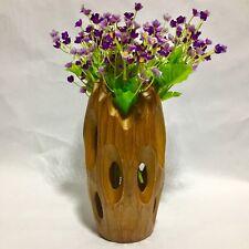 """Free Shipping 8"""" Handmade Vase Mango Wood Luxury Design Home Decorative Light"""