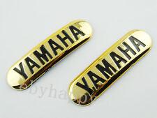 Gold Emblem Sticker for Yamaha Fuel Tank Fairing Decal Badge Motorcycles Custom