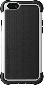 Ballistic IPHONE 6/6S Robust Jacke Maxx Hülle Schwarz & Weiß Robust Schutzhülle