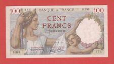 (Ref: D.399)  100 FRANCS SULLY  29/06/1939  (TTB+)