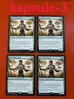 4x Beastcaller Savant   Battle for Zendikar   MTG Magic Cards