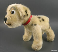 Steiff Rolly Dalmatian Dog Mohair Plush WDP 1962 rare Disney 12 cm ID Button Vtg