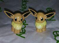 2htf Vintage 90s Eevee Rare 1998 TOMY cgtsj Figurine Pokemon Mini Figure Toy Lot