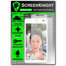 ScreenKnight Sony Xperia C4 FRONT SCREEN PROTECTOR invisible military shield