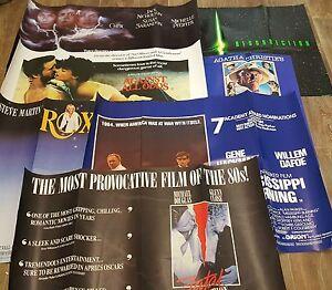 Film posters 1980's original