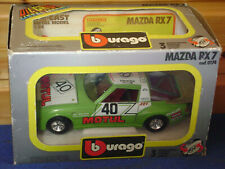 Burago / Bburago   Mazda RX 7    cod .0174   scala 1:24  sehr selten
