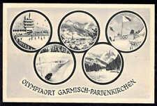 Germany WWII WW 2 unused postcard  Olympic 1936