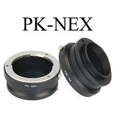 PK-NEX Adapter Ring for Pentax K/PK Lens to Sony NEX-7 6 5R 5N F5 E-mount Camera