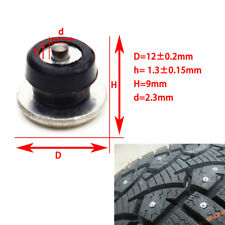 100X Anti-slip Car Tire Rubber Sleeve Studs Snow Ice Road Wheel Nail Universal