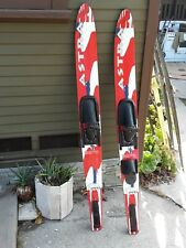 Vintage Wellington Astra W67 Water Skis Combo 67�