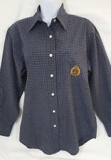 Ralph Lauren Women's Green Plaid Cotton Button Front Blouse Size 4