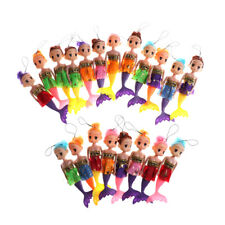 1PC 16cm Princess Mermaid Ddung Confused Doll Pendant Keychain Dolls JT