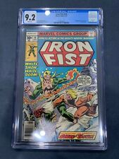 IRON FIST 14 CGC 9.2 1ST FULL APPEARANCE OF SABRETOOTH!