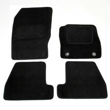 Ford Focus Mk3 2011-2015 Fully Tailored Carpet Car Mats Black 4pcs Floor Mat Set