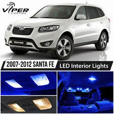 Blue LED Interior Lights Package Kit for 2007-2012 Hyundai Santa Fe