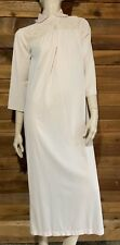 VINTAGE BEIGE SIZE SMALL NIGHTGOWN   #10707