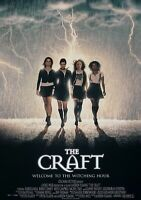 THE CRAFT Classic 90's Vintage Movie Poster - Wall Film Art Print - Witches