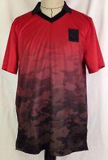 Puma X Trapstar Futbol Tee Shirt Mens L Size Soccer Barbados Cherry Trap Camo