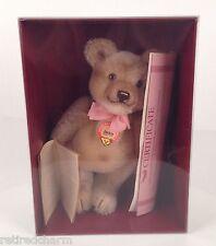 "�Vintage Steiff Replica 1953 Jackie Teddy Bear 10"" Tall #0190/25 Coa Nib Sealed�"
