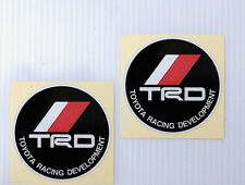 TRD REFLECTIVE  PAIR OF PERFORMANCE CAR DECAL STICKERS