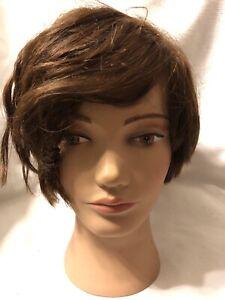 CLiC International Cosmetology Mannequin Head Human Hair Practice Manikin