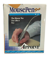 Vintage MousePen Pro - Appoint PC IBM Or Compatible W/Diskette NEW Sealed