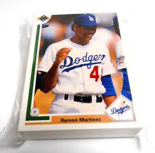 50 Card Lot Ramon Martinez 1991 Upper Deck Baseball #461 LA Dodgers Near Mint-MT