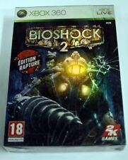 jeu xbox 360  BIOSHOCK 2 RAPTURE EDITION  vf neuf blister