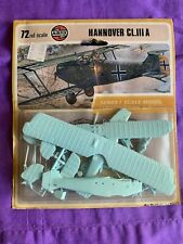 VINTAGE 1973 AIRFIX HANNOVER CL.III A 1/72 MODEL AIRPLANE KIT SEALED 1973