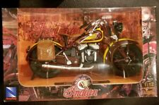 New Ray 1:12 Scale Die Cast Toy Replica Indian Sport Scout 1934 Brown&Yellow