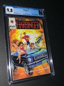 Harbinger #1 CGC 9.8 1st Appearance Valiant
