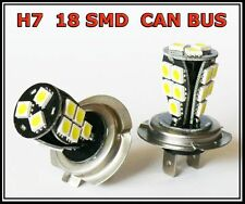 H7 499 18 SMD CANBUS LED FRONT FOG CAR BULBS A