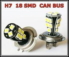 H7 499 18 SMD CANBUS LED FRONT FOG CAR BULBS A