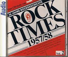 Audio Rock Times vol. 2 1957-58 CD Various AUDIOPHILE