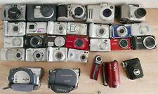 Job Lot 28 Digital Cameras Handycam *** SPARES/REPAIRS*** Untested (Hospiscare)