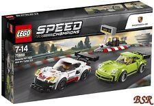 LEGO® Speed Champions: 75888 Porsche 911 RSR und 911 Turbo 3.0 6 NEU 0.-€ Versa