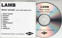 LAMB What Sound: Live At BBC Maida Vale UK 9-track promo only CD UNRELEASED