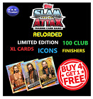 WWE SLAM ATTAX RELOADED GOLDEN ICON 100 CLUB SUPER RARE T1-T42 LIMITED EDITION
