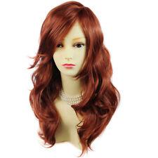 Wiwigs Wonderful Wavy Long Red,Black,Brown,Blonde,Burgundy Heat Resistant Wig