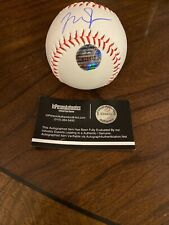 Los Angeles Angels Mike Trout Hand Signed Autographed Baseball With COA