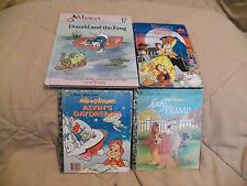Lot of 4 Childrens Books Mixed Lot #1....1990s