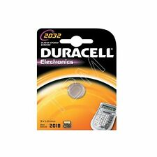 6 x Duracell CR2032 Batteries Lithium Battery 3V Button/Coin Cell CR 2032 DL2032
