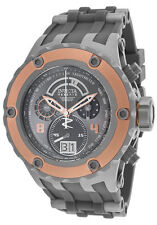 New Mens Invicta 16245 Subaqua Reserve Chrono Grey Rubber Strap Watch