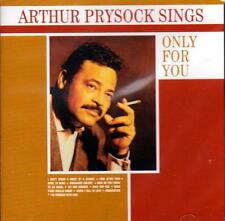 ARTHUR PRYSOCK SINGS ONLY FOR YOU (NEW SEALED CD)