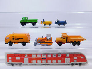 CP272-0, 5 #6x wiking H0 / 1:87 Model: Unimog+Kehrfahrzeug+Dumper Etc. , Top
