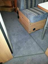 Caravan Carpets/Motorhome BOUND MATS from your PRE CUT PIECES 2/3/4/5/6/7 Berth