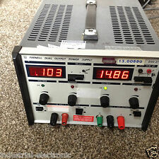 FARNELL DUAL OUTPUT POWER SUPPLY D302T