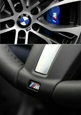 Für BMW M Paket Performance Emblem Aufkleber 3D Gel Felgen Lenkrad 17x9mm 4Stück