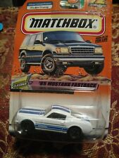 Matchbox 65 Ford mustang fastback 1:64 scale diecast